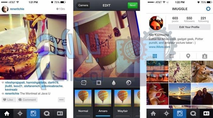 طريقة استخدام تطبيق انستقرام Instagram