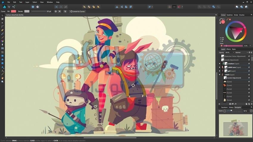 مميزات برنامج adobe illustrator cs6