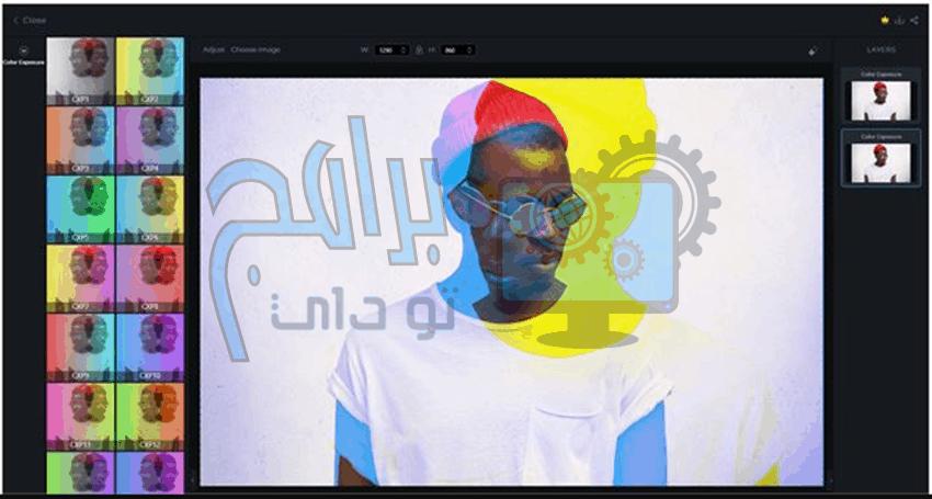 برنامج picsart بيكس آرت