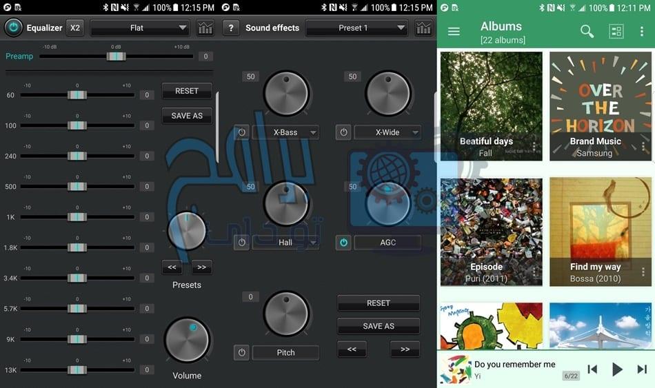 متطلبات تطبيق jetAudio مشغل الموسيقى للاندرويد