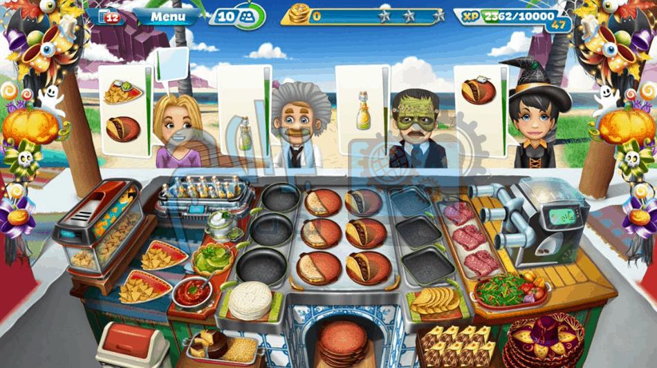 مميزات لعبة حمى الطهي Cooking Fever