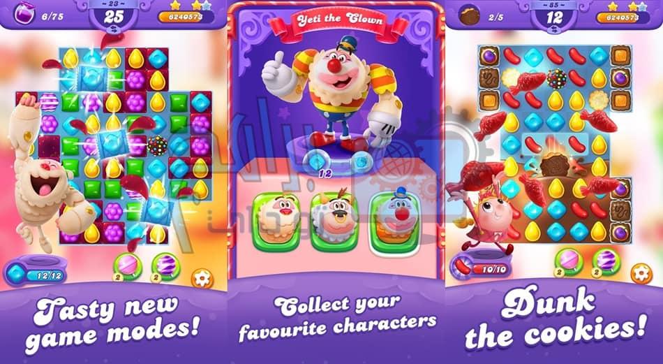 تحميل لعبة Candy Crush Friends Saga للأندرويد والايفون برابط مباشر