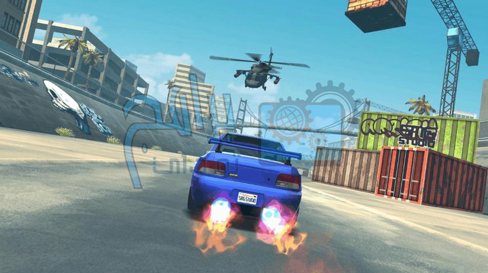 مميزات لعبة Fast & Furious Takedown :