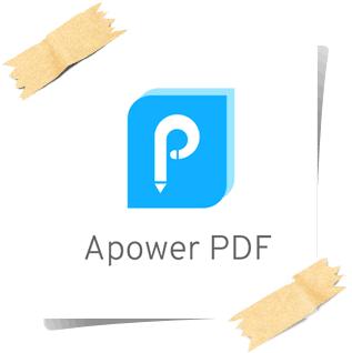 تحميل برنامج تعديل وتحرير ملفات البى دى اف ApowerPDF للكمبيوتر مجانا