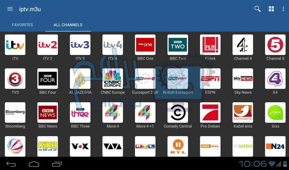 تطبيق IPTV