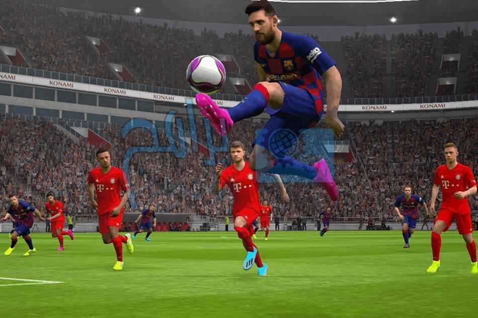 تحميل بيس 2020 eFootball PES للموبايل