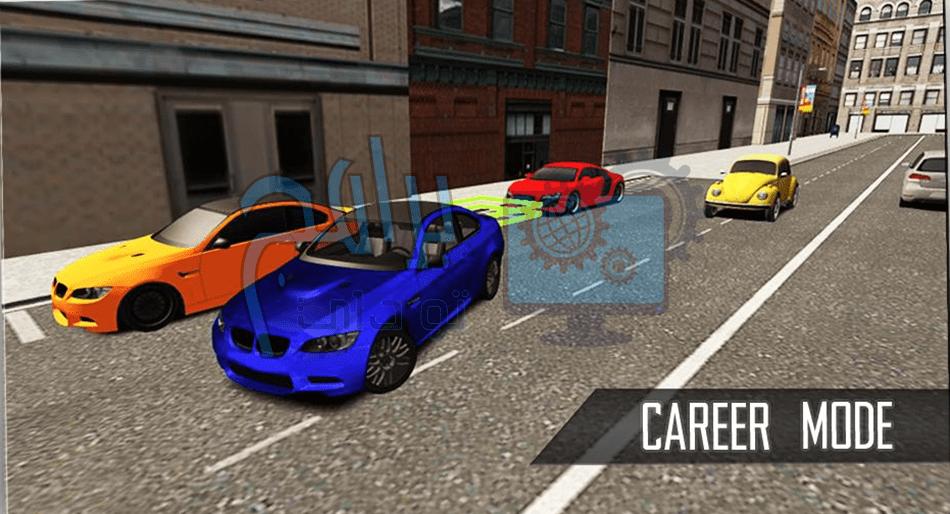 لعبة مدرسة قيادة السيارات
