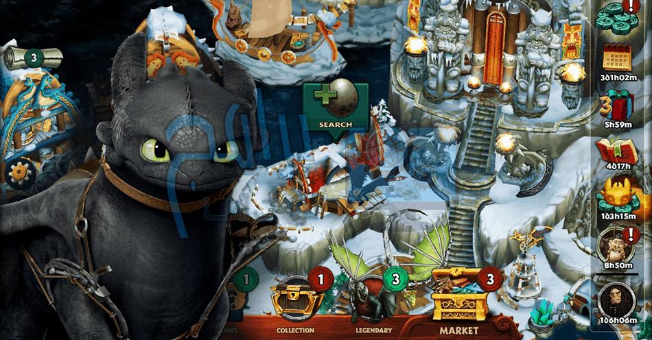 تحميل لعبة Dragons Rise of Berk للموبايل