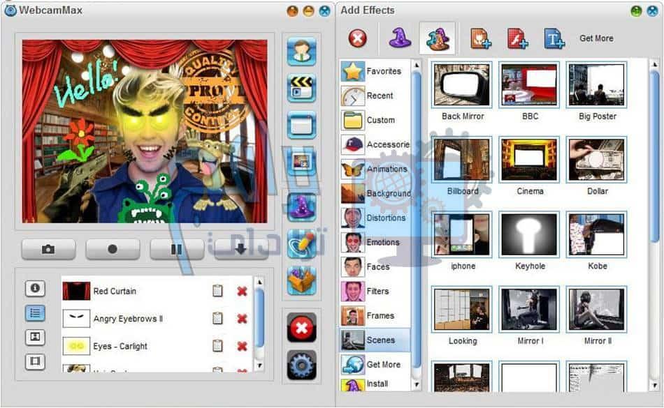 تحميل برنامج ويب كام ماكس 2020 WebcamMax مجانا