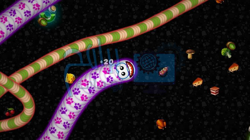 لعبة Worms Zone