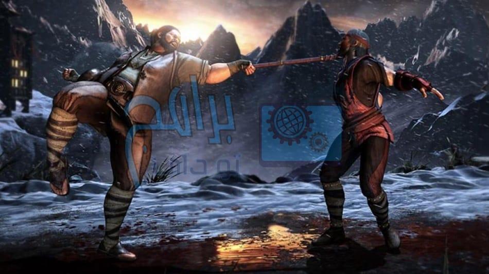 لعبة القتال والعنف mortal kombat مجانا