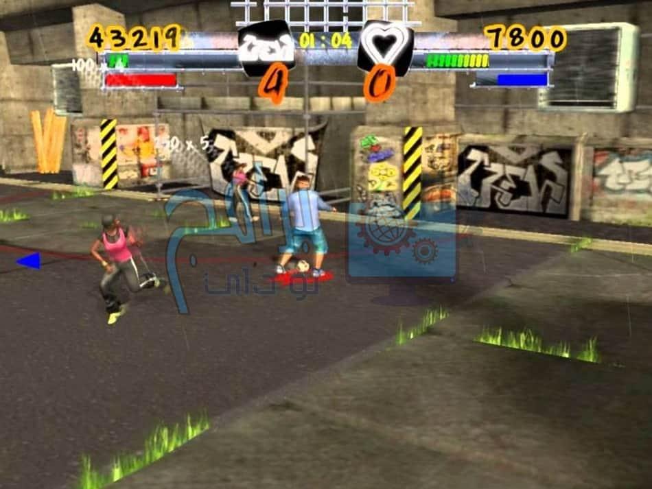 لعبة Freestyle street soccer