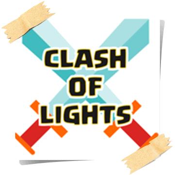 لعبة clash of lights كلاش اوف لايت