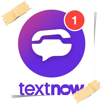 برنامج TextNow تكستناو للحصول على رقم أمريكي